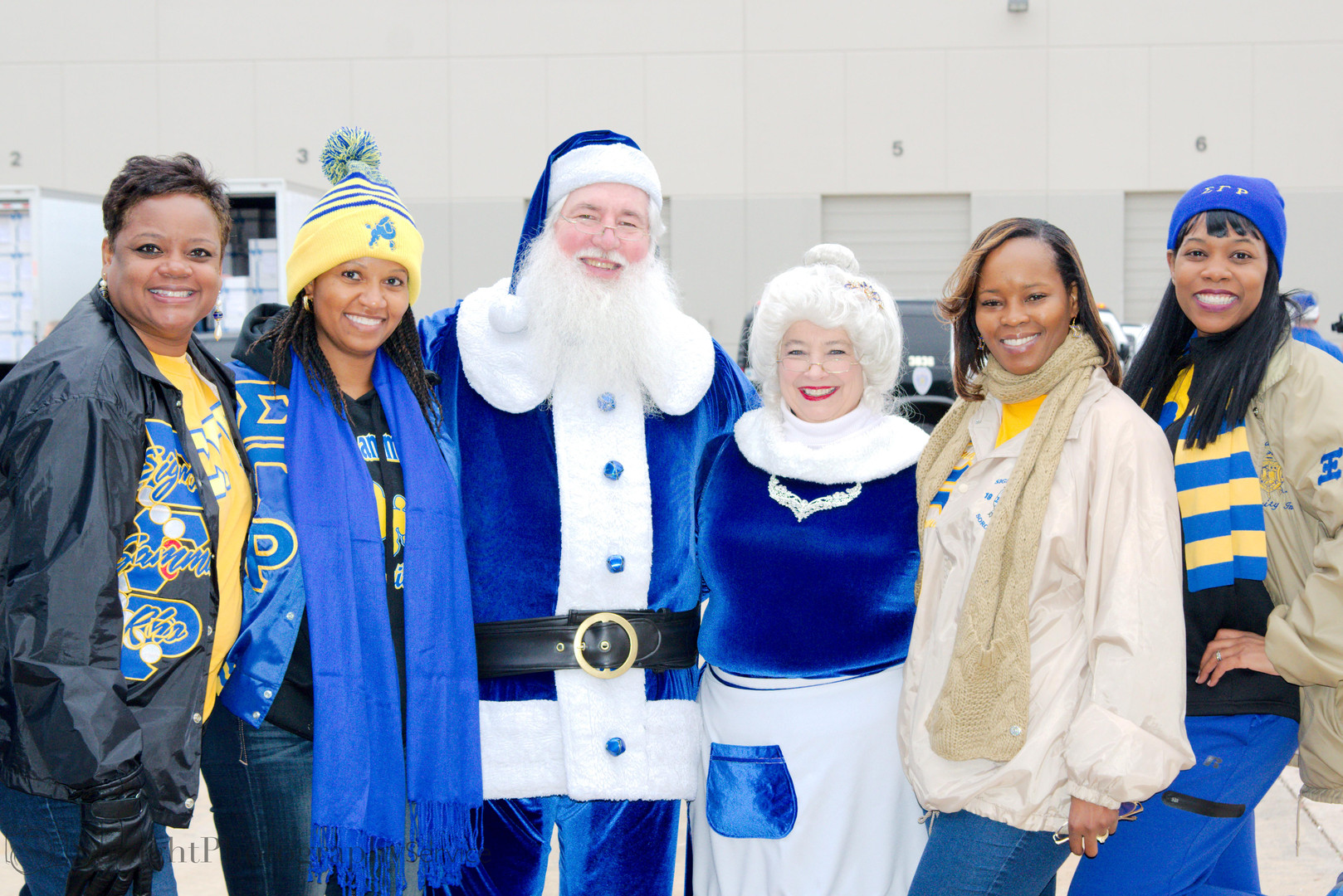 Blue Santa Volunteer Event