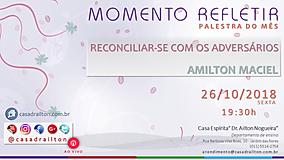 RECONCIAR-SE COM SEU ADVERSÁRIO