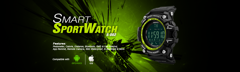 Smart SportWatch S-002 Ads