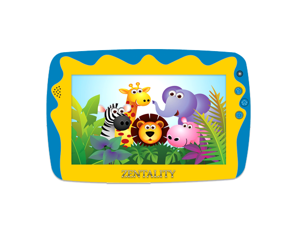 Zentality C-703 Kids Tab (Blue)