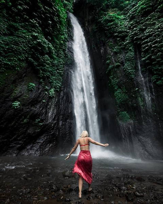 Waterfall in Bali
