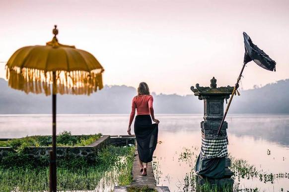 Lake in Bedugul