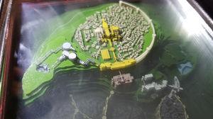 Mini 3D Map of Lordran (Dark Souls)