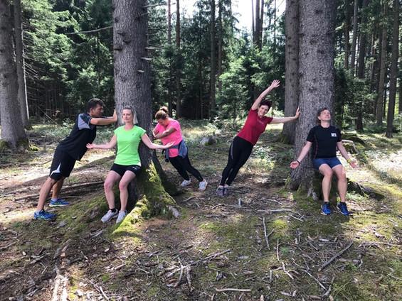 Waldbaden - Entspannung pur