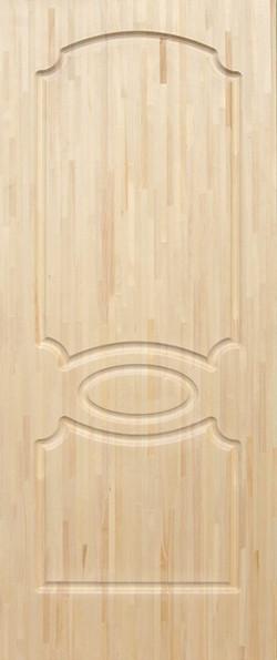 Дверь деревянная с сучками