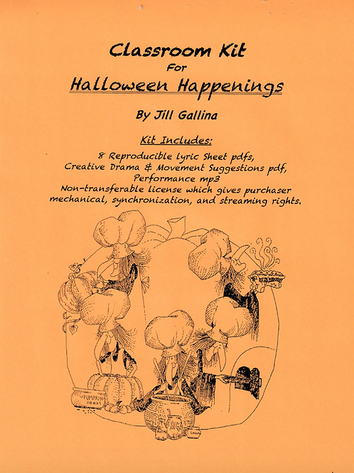Halloween Happenings Classroom Kit for Virtual or Traditional Classrooms
