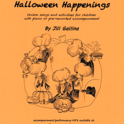 Halloween Happenings - Accompaniment MP3 - Instrumental Only