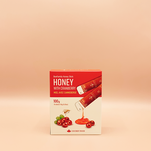 Cranberry Honey Stick (10sticks)