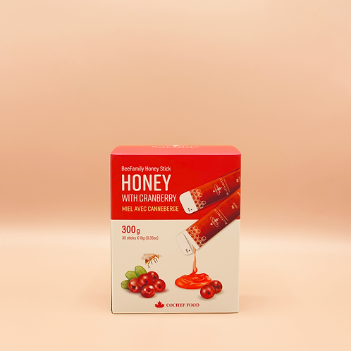 Cranberry Honey Stick (30sticks)