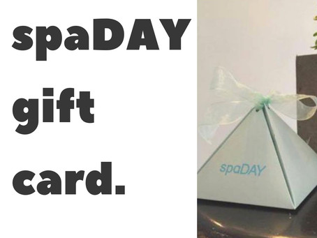 The spaDAY Gift Card
