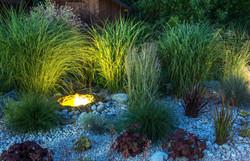 Landscape Lighting tall grass