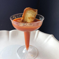 Grilled Cheese Tomato Soup Martinis