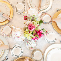 Catering Creations Tea Party Table Setting