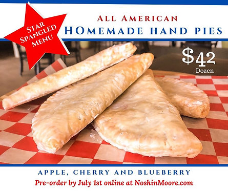 One Dozen - All American Homemade Hand Pies