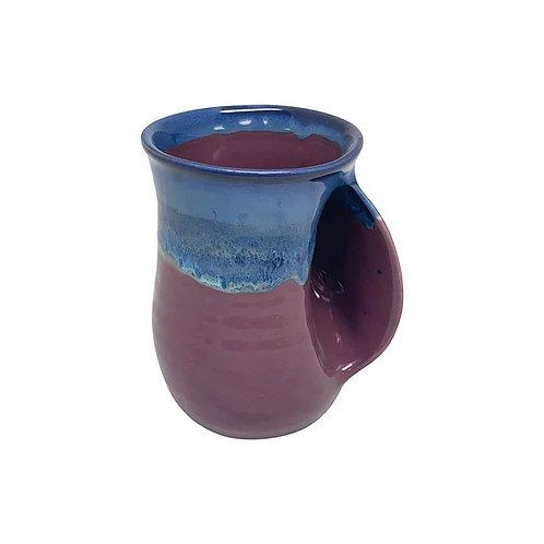 Handwarmer Mug - Purple Passion Right Handed