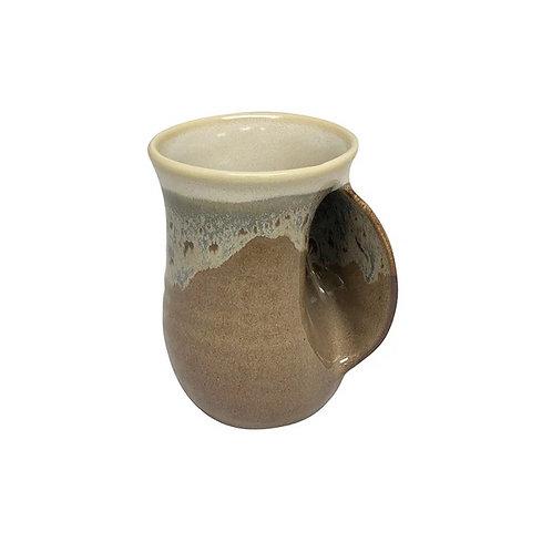 Handwarmer Mug - Desert Sand Right Handed