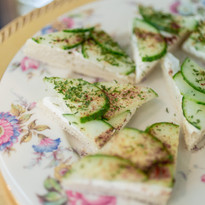 Catering Creations Cucumber Tea Sandwiches