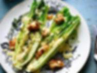 Nosh Restaurant Knife & Fork Grilled Caesar Salad