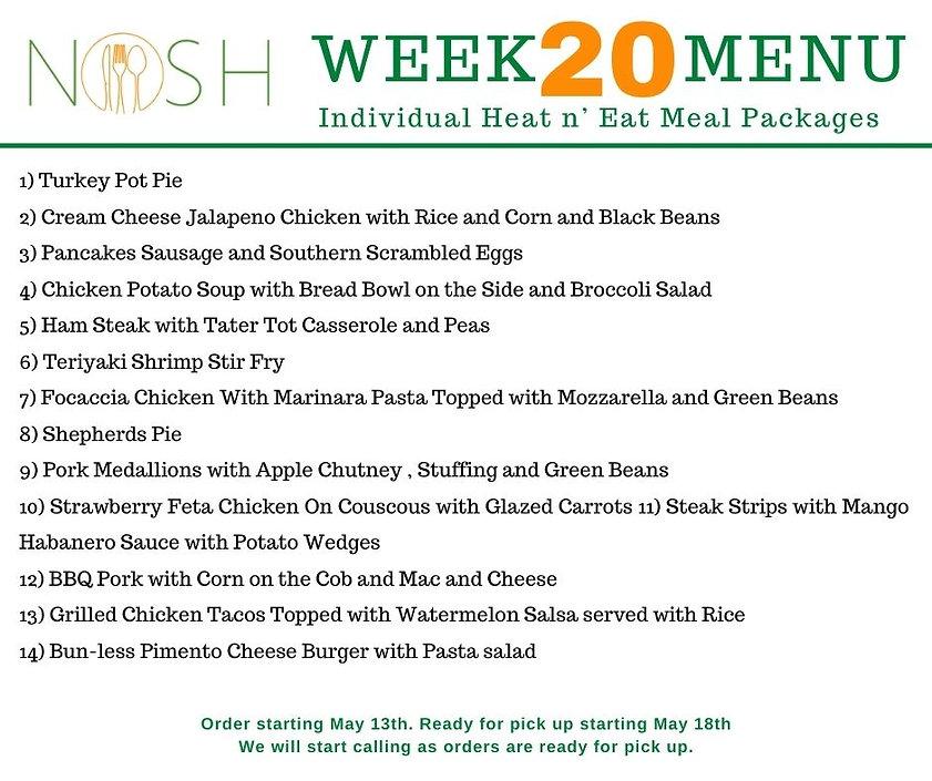 weekly heat and eat week 20 may 13 2021.
