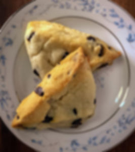 Catering Creations Chocolate Scones