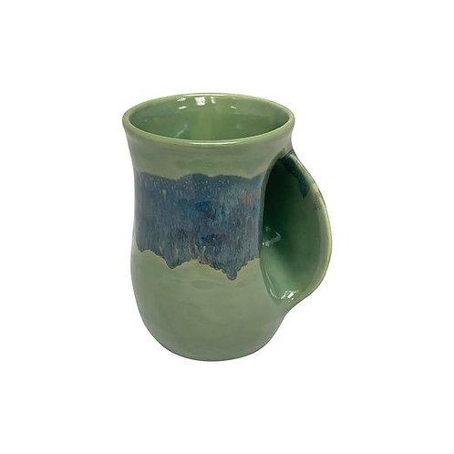 Handwarmer Mug - Misty Green Left Handed