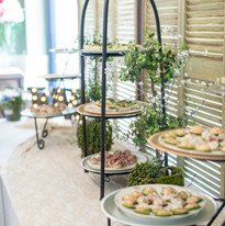 Catering Creations Tea Party Buffet Line