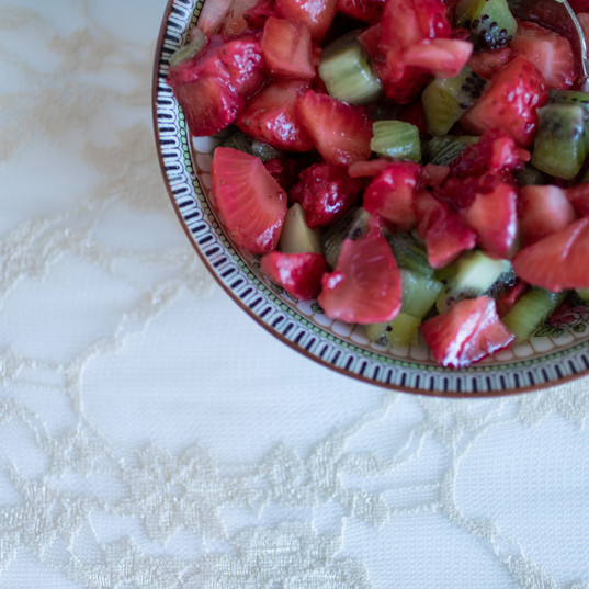 Catering Creations Strawberry Kiwi Fruit Salad