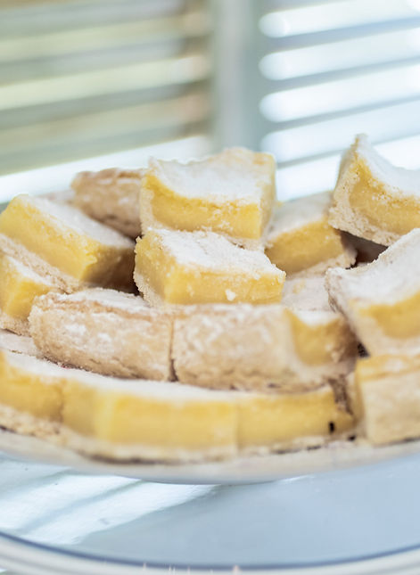 Catering Creations Lemon Bars