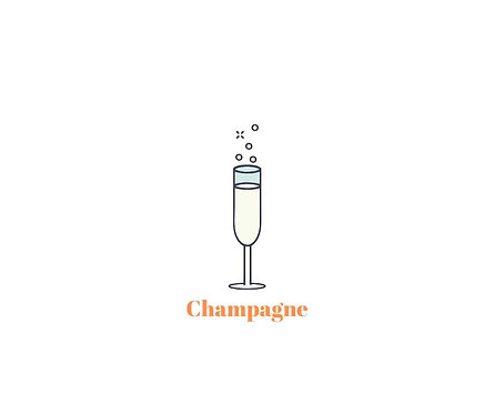 One Bottle of Champagne