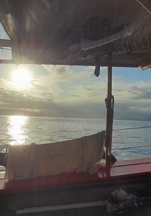 Por do Sol na Ilha Grande