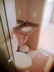 Banheiro da Suíte 6 pessoas 1 cama de casal e 2 beliches