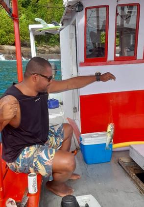 Pescaria na Gruta do Acaiá