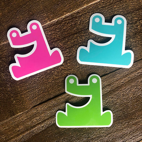 Terrance Toad Sticker
