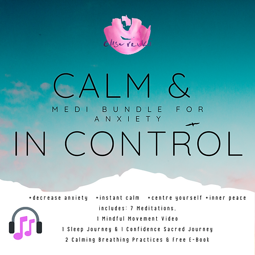Calm & In Control Bundle