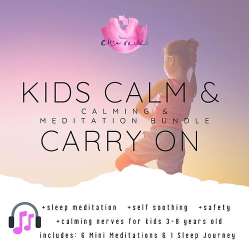 Kids Calm & Carry On Meditation Bundle