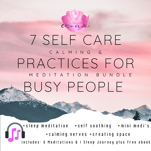 7 Self Care Practices for Busy People