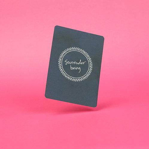 Surrender Being Oracle Cards