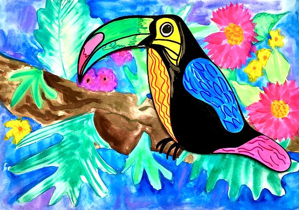 Terrific Toucans | artforkidz | Berowra
