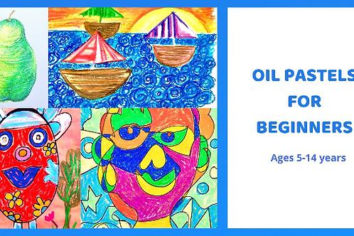 OIL PASTELS FOR BEGINNERS