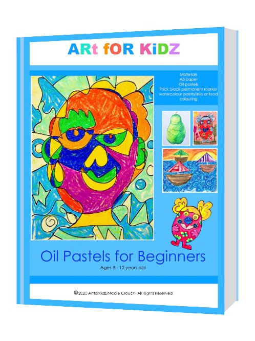 Oil Pastels for Beginners PDF