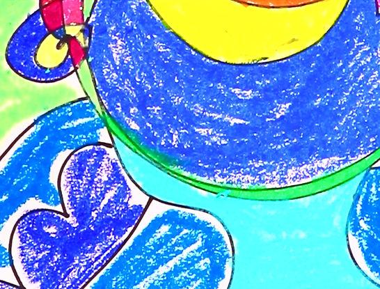 Oil pastels for beginners | artforkidz | Berowra