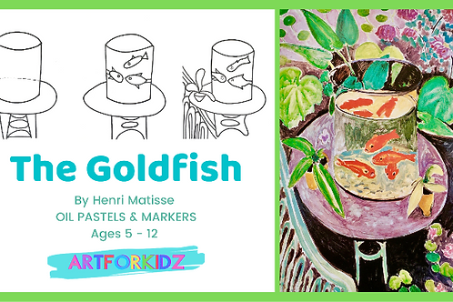 'THE GOLDFISH 'BY MATISSE - Premium