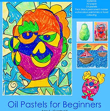 Oil Pastels for Beginners | artforkidz | Berowra
