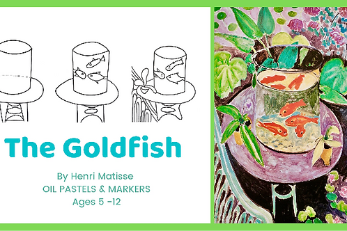 'THE GOLDFISH' BY MATISSE