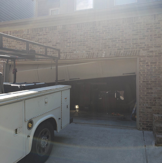Garage Door Before 001