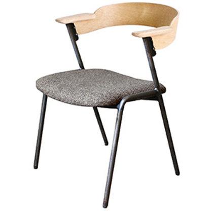 チェアー Danis short arm chair