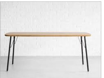MEATH DINING TABLE  (WFN-1)クラフトタイプ