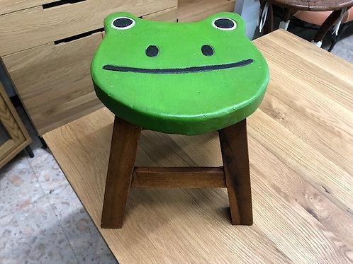 ウッドスツール カエル(緑)