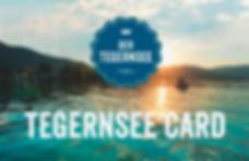 Tegernsee Card gratis erhalten