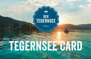 Tegernsee-Card inbegriffen.